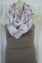 Collection Eighteen Scarf Sz OS Pale Orchid Purple Infinity Loop Casual ... - $16.44