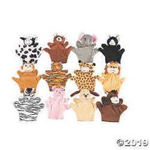 Five Finger Stuffed Animal Hand Puppets - $24.99