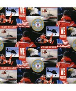 United States Coast Guard Collage Print by Sykel Enterprises-BTY-Protect... - $10.95