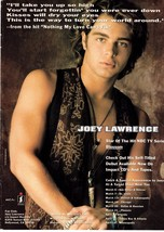 Joey Lawrence teen magazine pinup clippings Bop Tiger Beat Teen Beat Shirtless