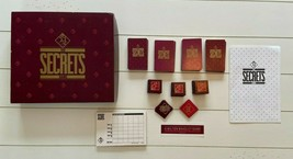 Vintage Secrets Game Board Game 1987 - $17.30
