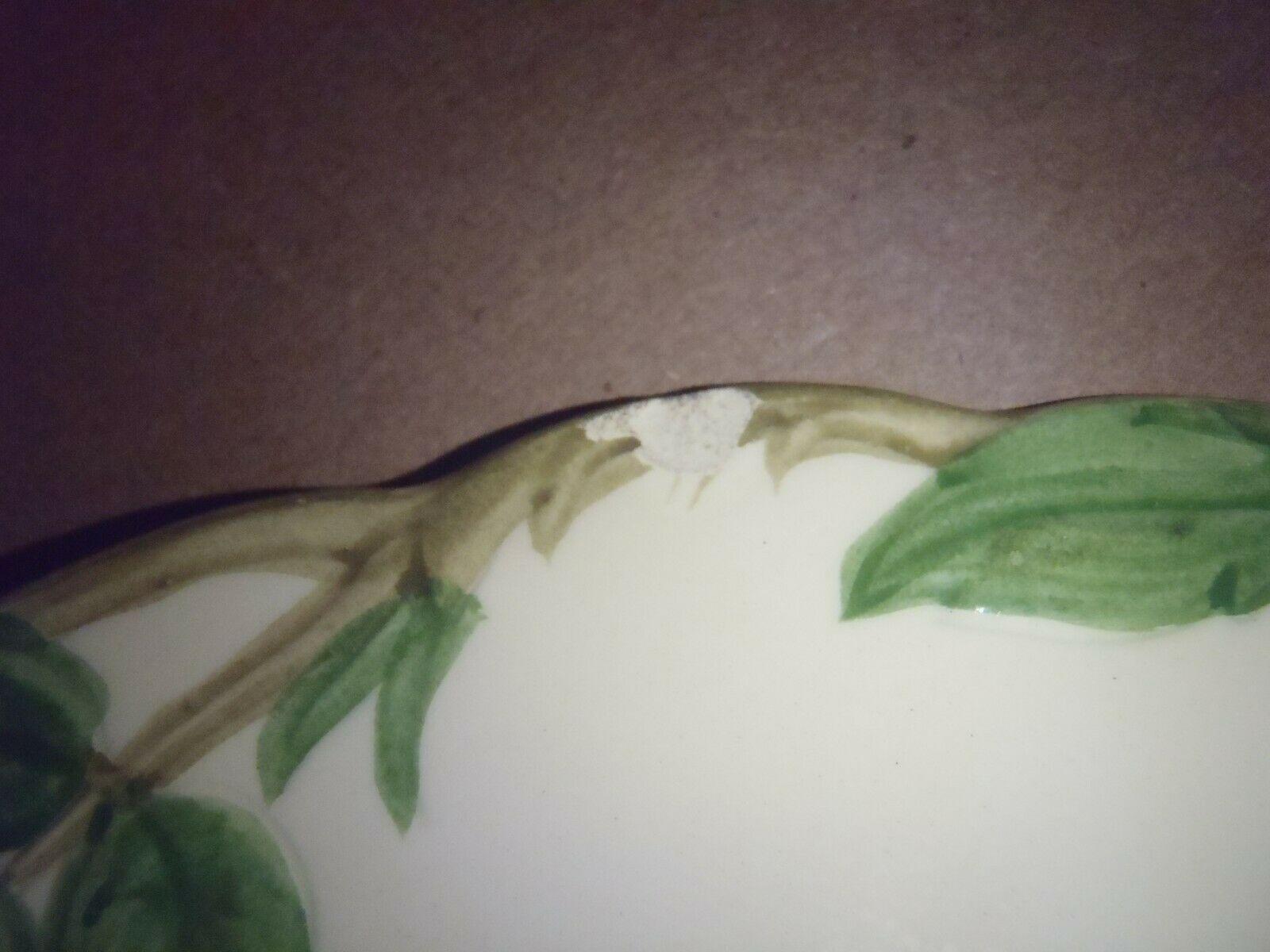 """Set of 10 Vintage Franciscan Desert Rose  8"""" Salad Dessert Plates California"""