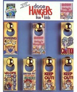 Door Hangers for Kids True Colors Cross Stitch on Plastic Canvas Pattern... - $3.58