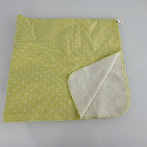 Circo Green White Polka Dot Cotton Flannel Baby Receiving Blanket Unisex - $29.69