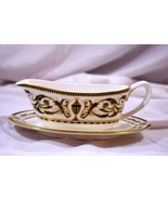 Royal Worcester 1983 Windsor Gravy Boat And Under Plate EUC - $81.89