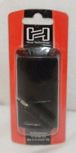 Hosa Technology GMP113 Adaptor Quarter Inch TS To Three And Half Same