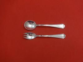 "Fairfax by Durgin-Gorham Sterling Silver Baby Childs Set 2pc 4 3/4"" Custom Made - $132.05"
