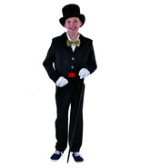 KIDS - Black Tailcoat , Cabaret / Show / Victorian    - ages 3 to 14   - $21.32
