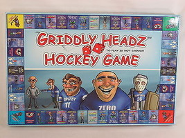 Griddly Headz 2007 Hockey Board Game 100% Complete Excellent - $36.51