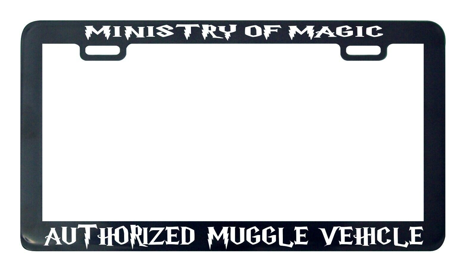 Primary image for Ministry of magic authorized muggle vehicle license plate frame holder