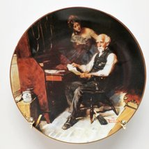 Norman Rockwell The Love Letters Plate - $24.75