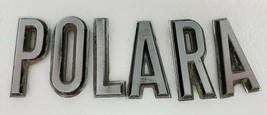 1967 Dodge Polara Loose Letters Set Emblem Name Badge Mopar OEM Broken Pins - $93.49