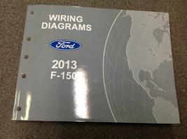 2013 Camion Ford F150 F-150 Elettrici Diagramma Manuale Negozio OEM Factory - $84.12