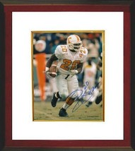 Travis Henry signed Tennessee Vols 8x10 Photo Custom Framed 98 Champs - $67.95