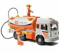 Daesung Toys Melody Oil Tank Tanker Truck Car Vehicle with Mini Figure Toy