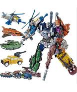 Transformers Bruticus Devastator Tank Helicopter Deformation Robot 5-in-... - $207.89