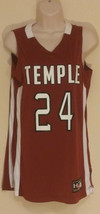 Under Armour Women's Temple #24 Maroon Basketball Jersey Size Small - $23.39