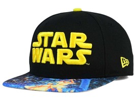 Disney Parks Star Wars Viza Print New Era 9FIFTY Snapback Cap Baseball Hat - $19.79