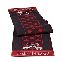 Grasslands Road Holiday Traditions Peace on Earth Table Runner - $29.27