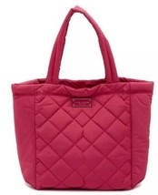 Marc Jacobs Quilted Tote Shoulder Bag Begonia Pink New  - $109.00