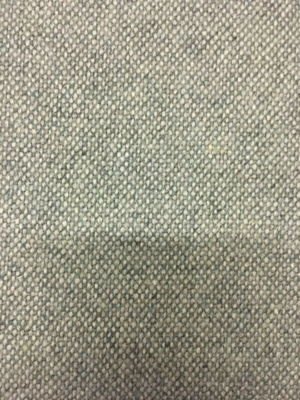 Designtex Tweed Medium Gray Woven Wool Upholstery Fabric 2.1 yards PW