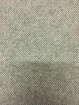 Designtex Tweed Medium Gray Woven Wool Upholstery Fabric 2.1 yards PW - $41.50