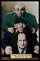 FRAMED Dewey, Cheatem and Howe Attorneys at Law The Three Stooges 36x24 ... - $65.45