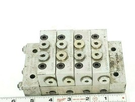 LUBRIQUIP HDV-9-A26 MANIFOLD BLOCK VALVE ASSEMBLY MSP-5T MSP5T HDV9A26 image 1