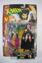 Toy Biz Marvel X-Men Ninja Psylocke w/Extending Power Sword Action Figur... - $18.76