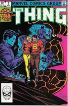 The Thing Comic Book #2 Marvel Comics 1983 VERY FINE+ UNREAD - $4.50