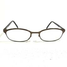 Gucci GG1646 R2V Sunglasses Eyeglasses Frames Brown Oval Horn Rim Full R... - $37.39