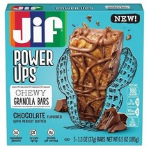 Jif Power Ups Chewy Granola Bars Chocolate with Peanut Butter - $9.85