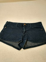 Forever 21 Womens Blue Flat Front Relaxed Fit Casual Denim Jean Shorts S... - $16.69