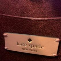 Kate Spade Talia Small Triple Compartment Leather Crossbody ~ Peachy Rose Bag image 7