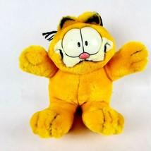"Fiesta Garfield Gimme a Hug 8"" Plush Cat Orange Black Vintage Stuffed An... - $24.18"