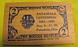 1951 Pataskala, Ohio Centennial Wooden Nickel - $5.99