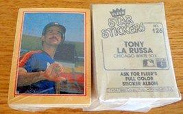 1984 Fleer Star Sticker MLB Complete Baseball set (126) with Cal Ripken,... - $24.99
