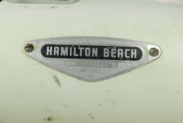 Vintage Hamilton Beach Stand Mixer Model G Motor Head Variable Speed Works - $24.74