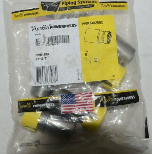 Apollo Powerpress PWR7482002 Carbon Steel Gas Press Reducer Bag of 5