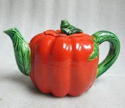 OCCUPIED JAPAN MARUHON WARE Vegetable Figural BELL PEPPER TOMATO CHILDS ... - $24.74