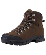 CAMEL CROWN Mens Hiking Boots Outdoor Trekking Backpacking Boot Mid Hike... - $72.15