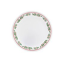 "Corelle Livingware Winter Holly 8.5"" Plate - $24.74"