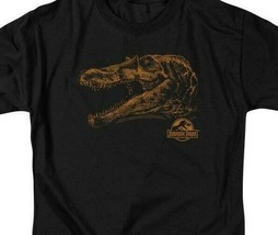 Jurassic Park t-shirt Sci-Fi  Movie T-Rex dinosaurs cotton graphic tee UNI181 image 2