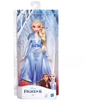 Disney Frozen 2 Elsa Fashion Doll With Long Blonde Hair and Blue Outfit NIB - $35.63