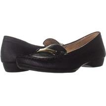 naturalizer Gadget Loafer Flats 805, Black, 8.5 W US - $27.83