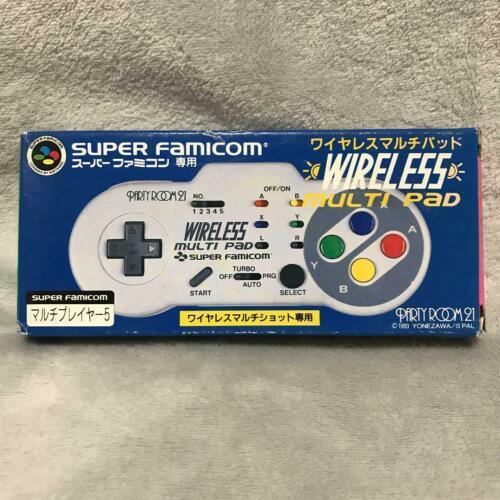 Yonezawa Nintendo Super Famicon Wireless Multi Pad Controller 1993 New Non Usato
