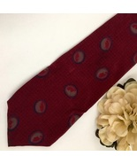 YSL Yves Saint Laurent Red Print men's business tie - $24.95