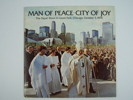 Pope John Paul II - Man Of Peace - City Of Joy Vinyl LP Record Album NR-... - £11.51 GBP