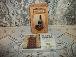 Vintage Dollhouse Miniature Kits Parlour Stove Chest On Chest Ready To Build - $23.74