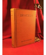 DRACULA by Bram Stoker - Doubleday early edition - orange binding - $1,421.00